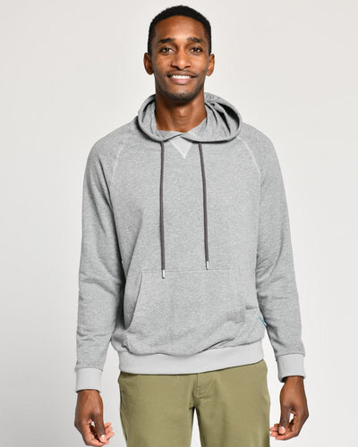 Grey Heather | French Terry Hoodie