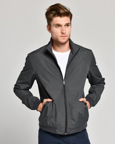 Charcoal Grey | Bomber Jacket