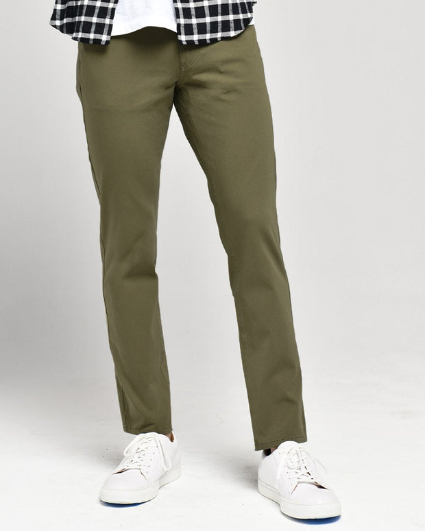 Olive | Tech 5 Pocket Pants