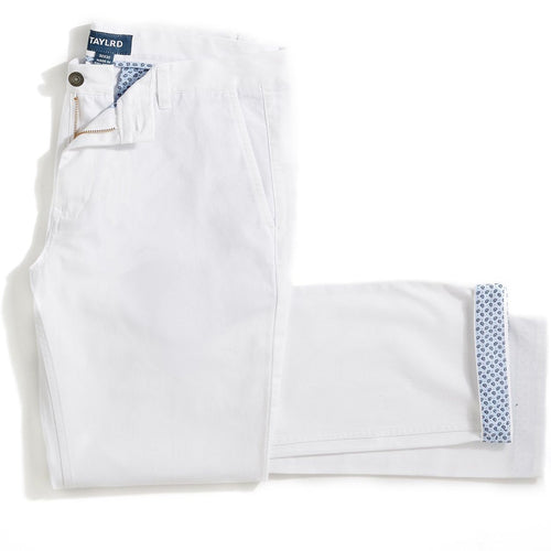 White Chino Pant (Final Sale)