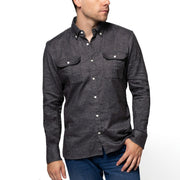 Double Pocket Twill Shirt