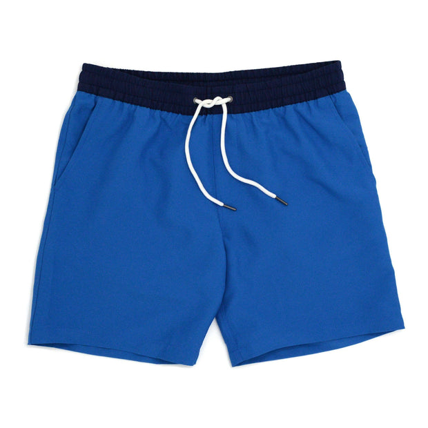 Two-Tone Blue Trunks