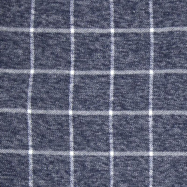 Navy Grey Plaid