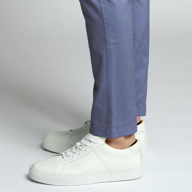 Chambray Navy Chino Pants