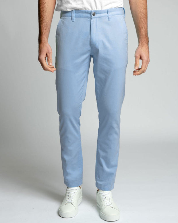 Light Blue |  Stretch Chino Pants