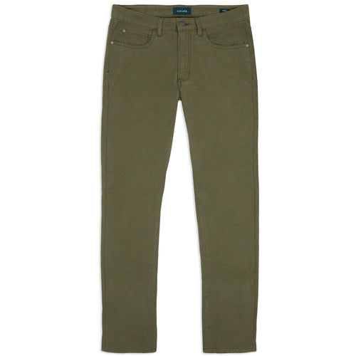 Olive 5 Pocket Pants