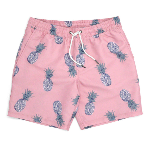 Pineapple Print Trunks