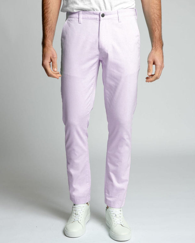 Dusty Rose Stretch Chino Pants