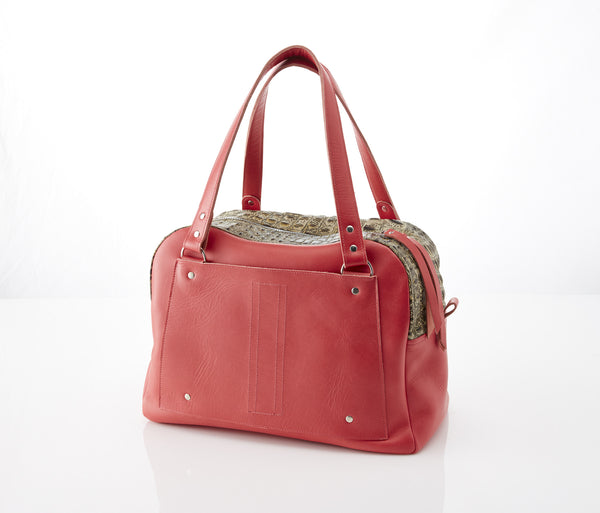 Coral Toast PDX Travel Bag
