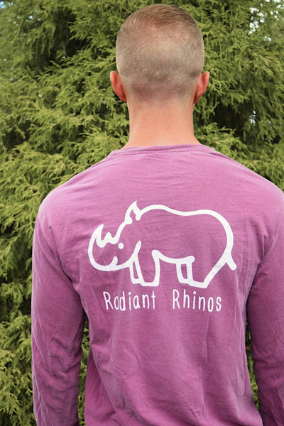 Radiant Berry Long Sleeve Pocket Tee