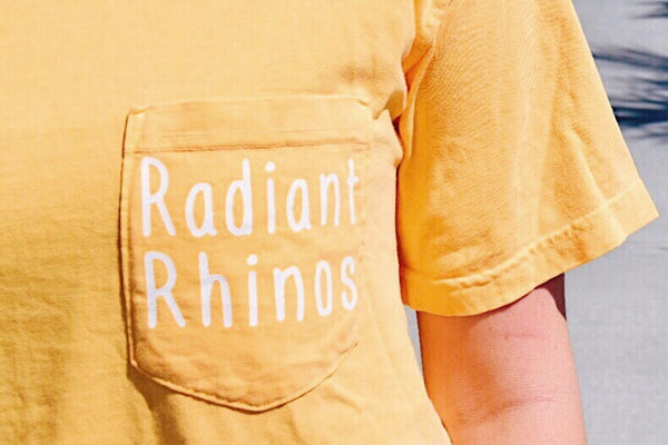 Radiant Citrus Short Sleeve Pocket Tee