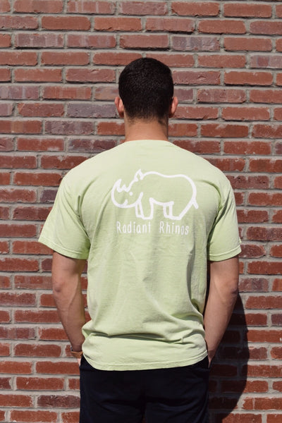 Radiant Celadon Short Sleeve Pocket Tee