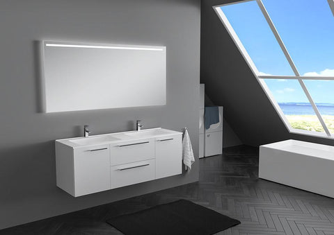 Omega 55 - Vanity Set -  Bagnotti USA Luxury European Bathroom Furniture