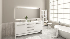 "71"" Vanity Set (Free Pop-up Drains) - Sale - Bathroom Vanity Bagnotti USA Luxury European Bathroom Furniture"