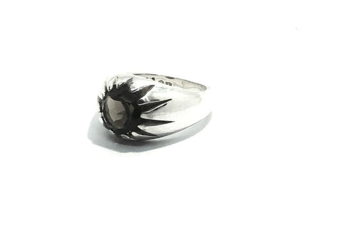 Gold Large Morning Star Ring