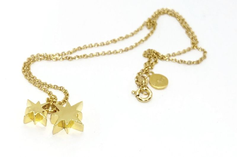 Gold Morning Stars Necklace