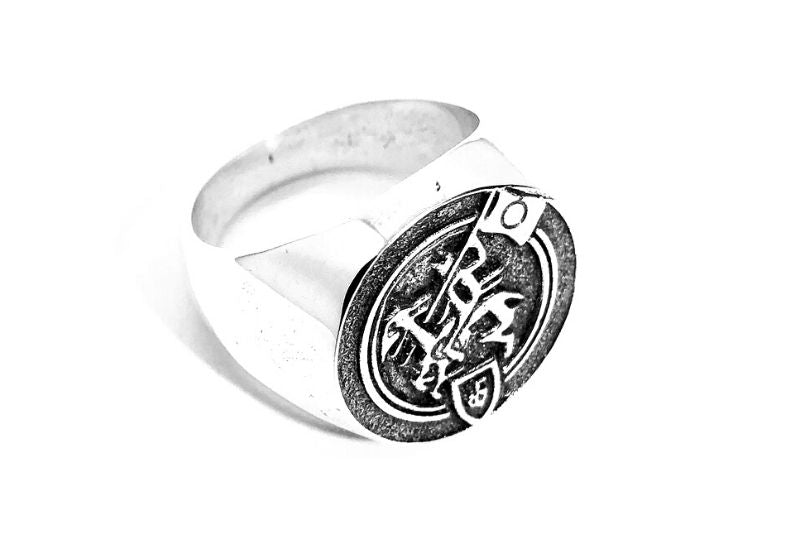 New Beginnings Silver Signet