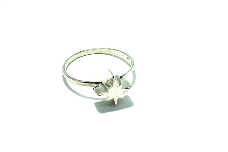 Morning Star Small Sterling Silver Ring