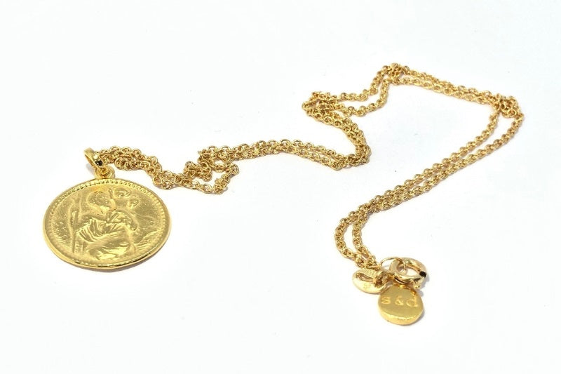 Gold St Christopher