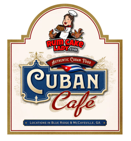 Rum Cake Lady Cuban Cafe