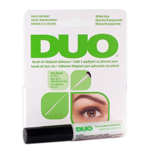 DUO False Eyelash Glue - Latex Free (White/Clear)
