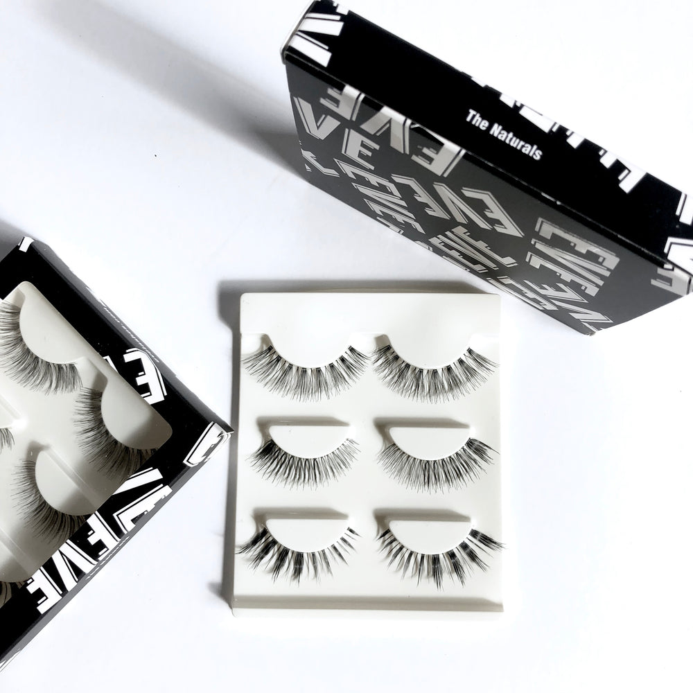 Natural Lashes -  x3 Bundle Pack (Perfect for Beginners)