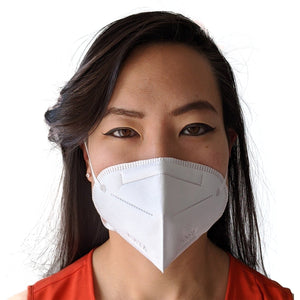KN 95 Filter Disposable Face Mask - 5 Pack