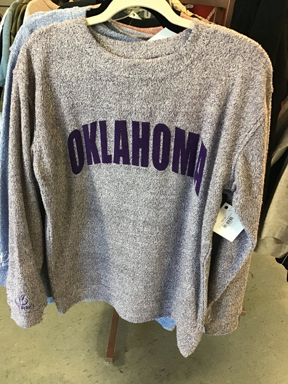 Oklahoma Purple cozy