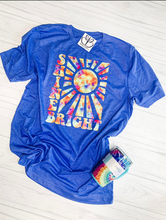 Shine Bright sweet Tee 6/21