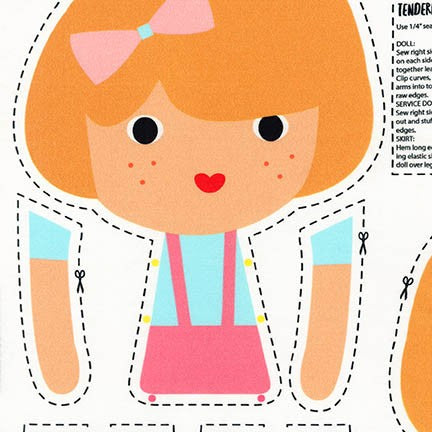 Girl Friends Doll Panels