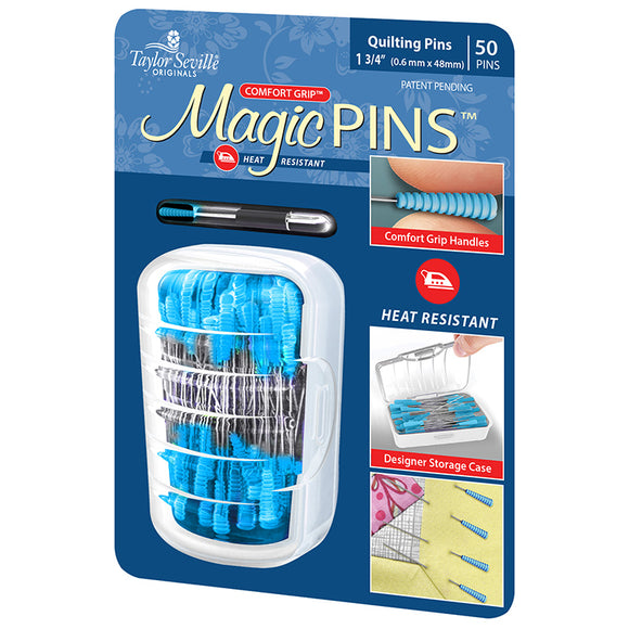 Magic Pins, Quilting Pins, 50ct