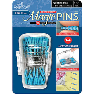 Magic Pins, Quilting Pins, Fine, 100ct