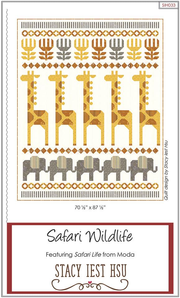Safari Wildlife Pattern