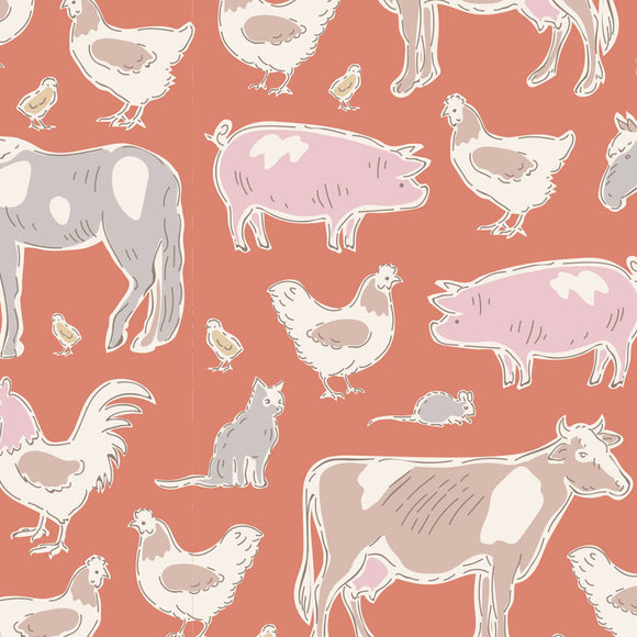 Tiny Farm, Farm Animals, Ginger
