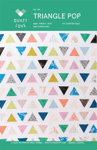 Triangle Pop Quilt Pattern