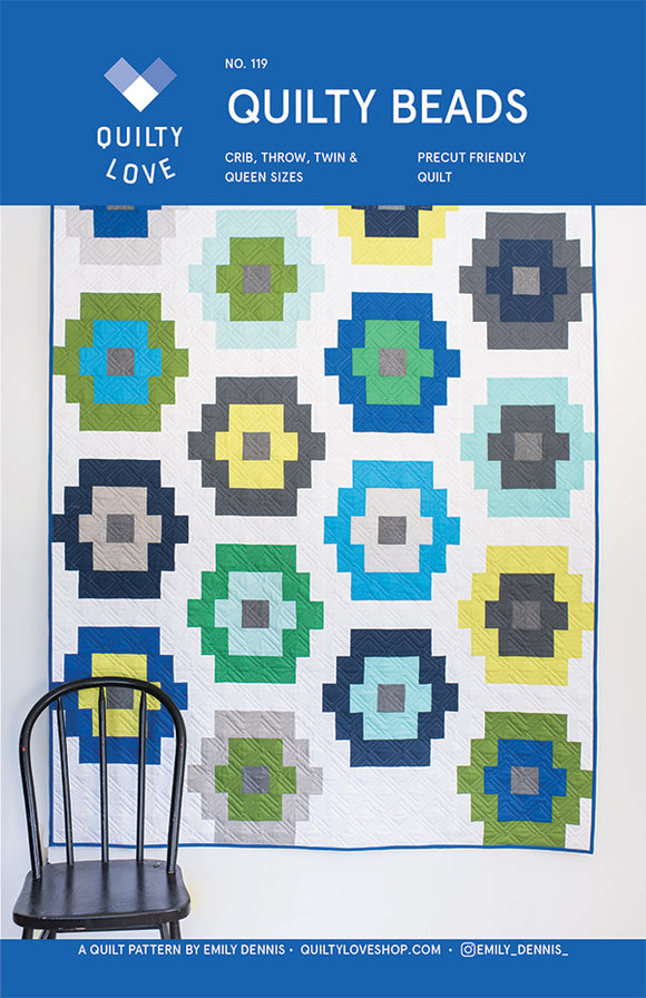 Quilty Beads Quilt Pattern