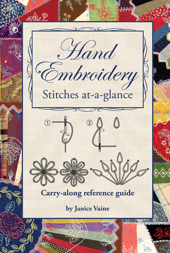 Hand Embroidery, Stitches At A Glance