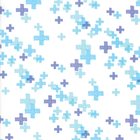 Modern Background Colorbox, White Perwinkle