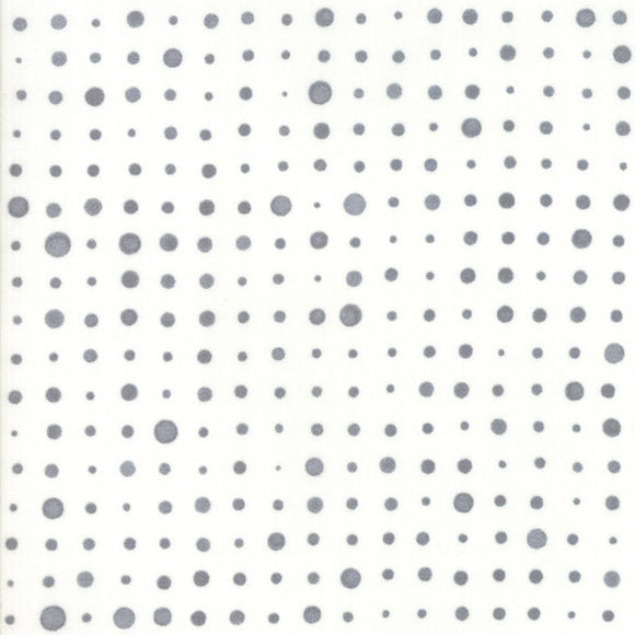 Modern Backgrounds More Paper, Dotties, White