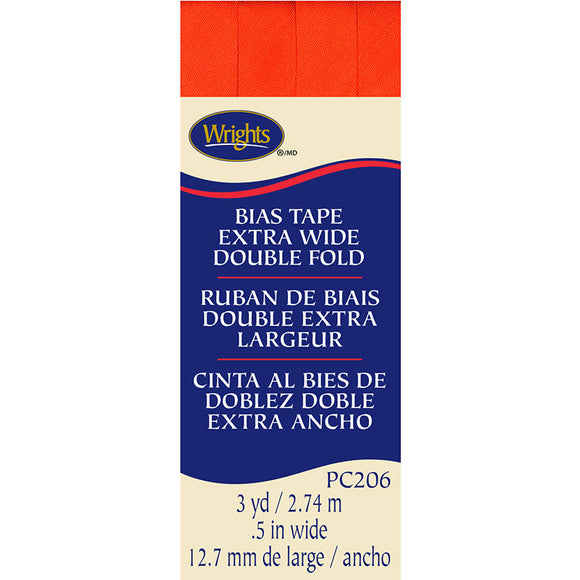 Wrights, Bias Tape XWDF, Orange