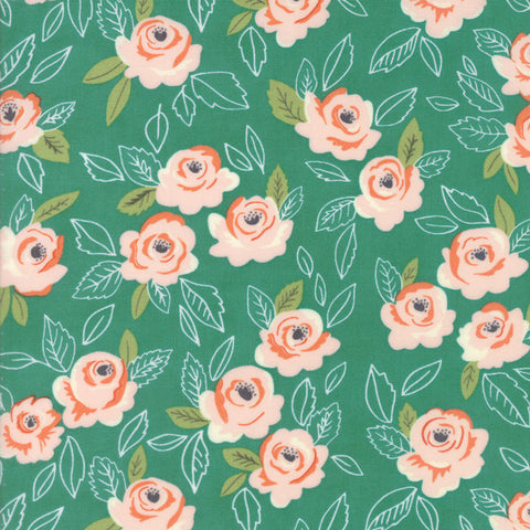 Wildest Rose, Teal