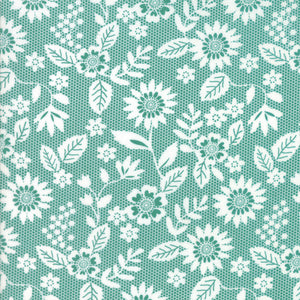 Sugar Pie, Lace Garden, Teal