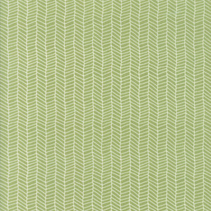 Sugar Pie, Herringbone, Green
