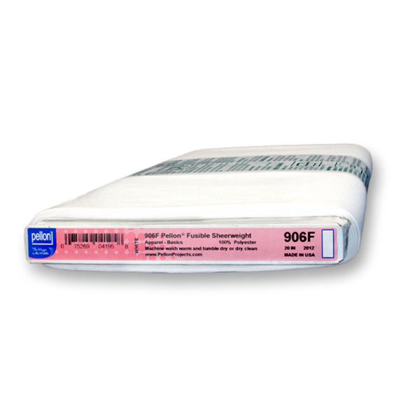 Pellon 906F Fusible Interfacing, Sheerweight, 20