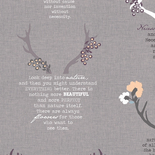 Eternal Nature Grey – in Linen