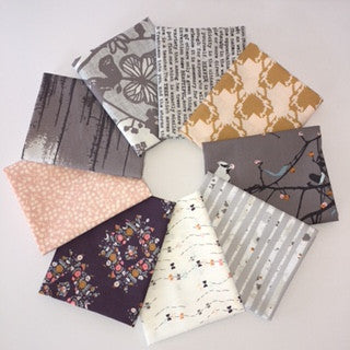 Blithe, Mist Woodland, Fat Quarter Bundle