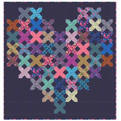 Cross My Heart Quilt Kit