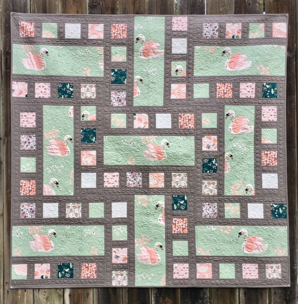 The Swan Quilt Kit