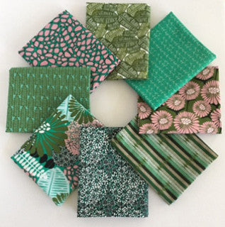 Posy, Julep 1/2 Yard Bundle