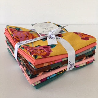 Floral Retrospective Fat Quarter Bundle - Sunset